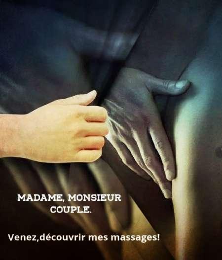 Massage torride ( F. H. ou couples).