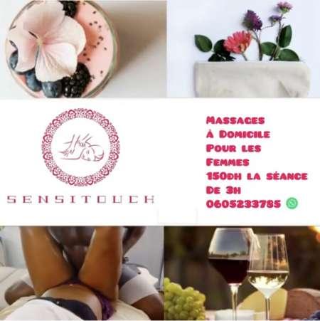 Massage érotique et sensuel pour les femmes